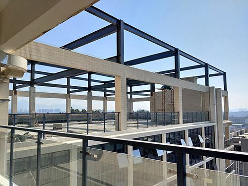 物流城钢结构夹层工程