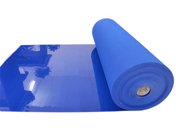 印刷襯墊生產--紙箱印刷襯墊-氣墊式襯版-水墨印刷機滾筒襯墊-藍色襯墊