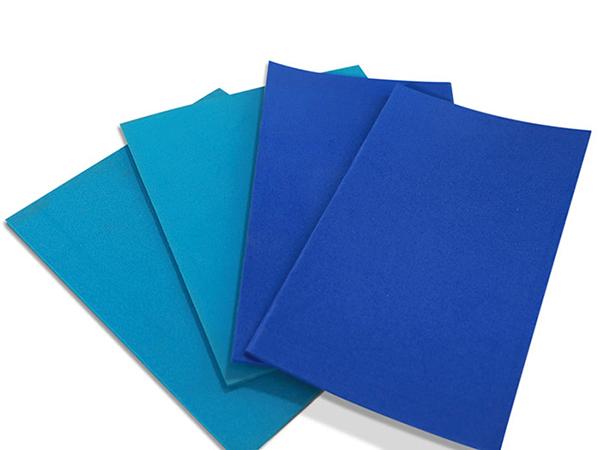 襯墊--紙箱印刷襯墊-氣墊式襯版-水墨印刷機滾筒襯墊-藍色襯墊