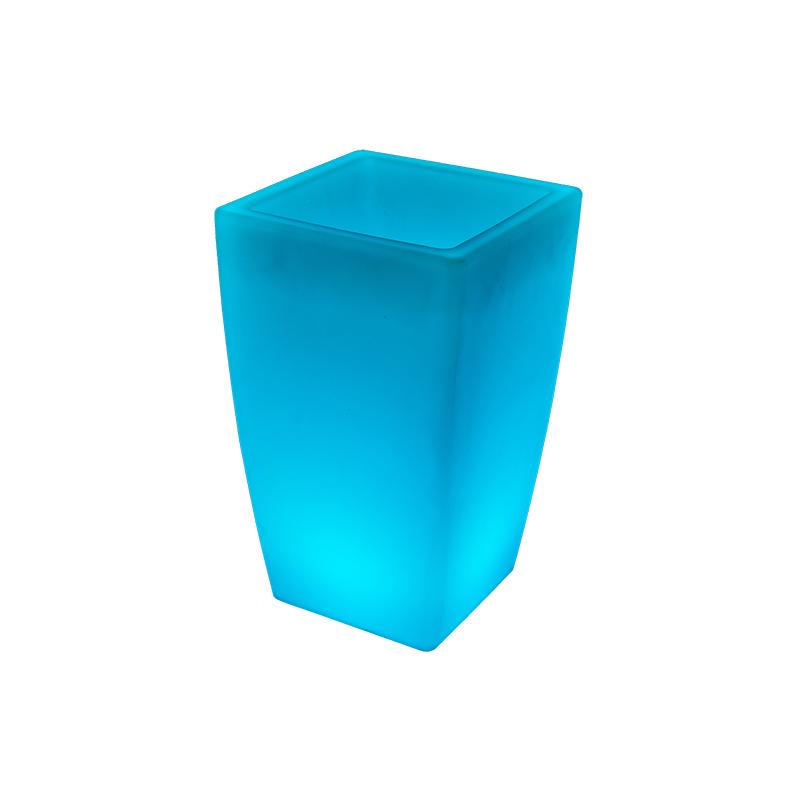 LED發光方口花盆