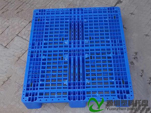 蓝色川型塑料卡板
