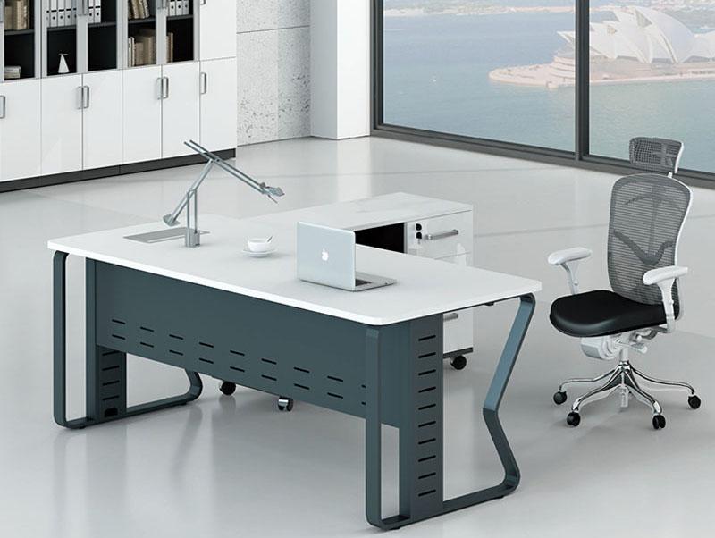 板式大班台主管办公桌电脑桌