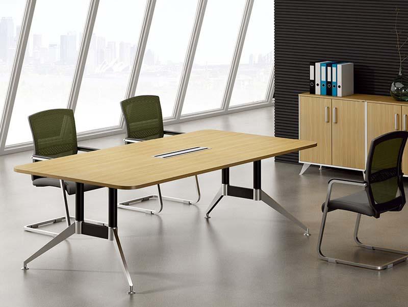 樟木关头办公家具厂板式会议桌定做