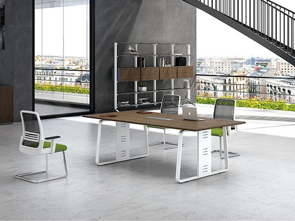 钢架板式会议桌,时尚会议桌