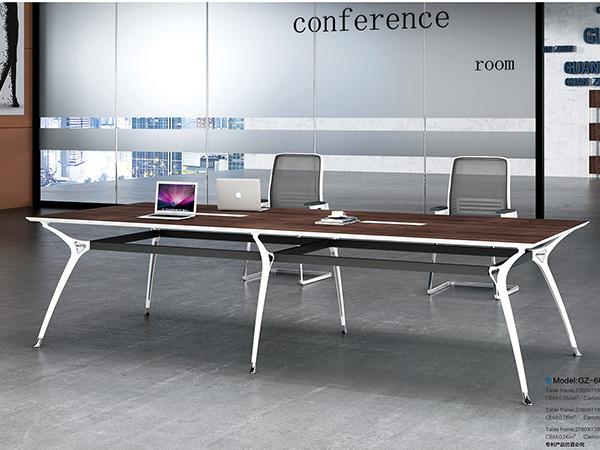 钢架板式会议桌17