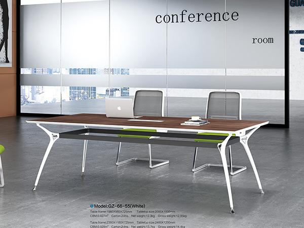 钢架板式会议桌18