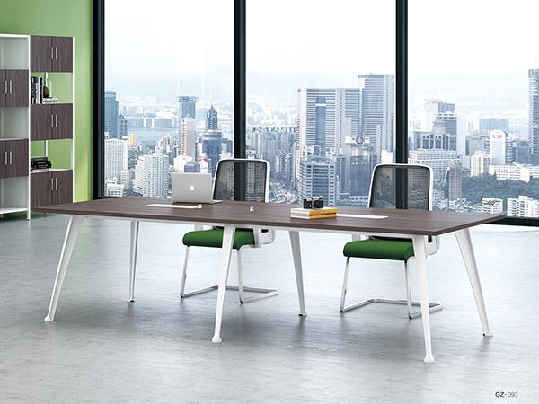 钢架板式会议桌19