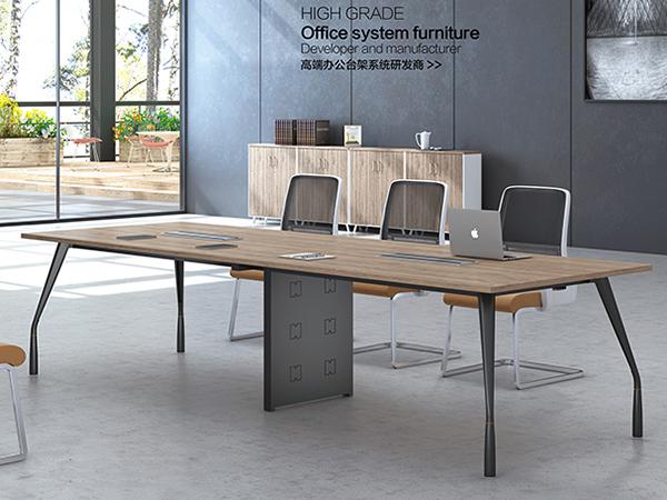 钢架板式会议桌20