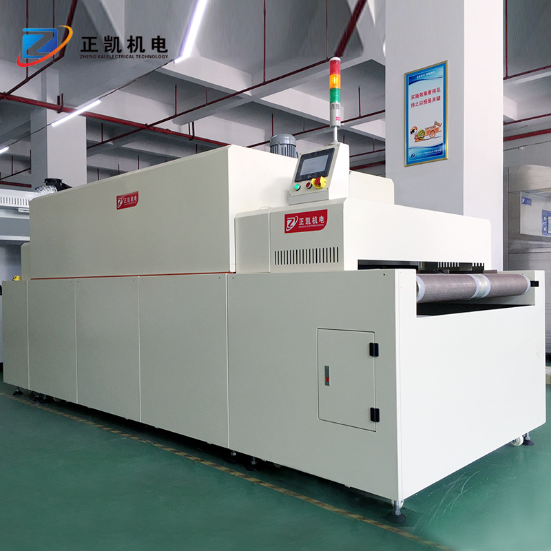 电热式隧道炉报价_正凯机电_表面印刷烘烤_轨道式_小型工业