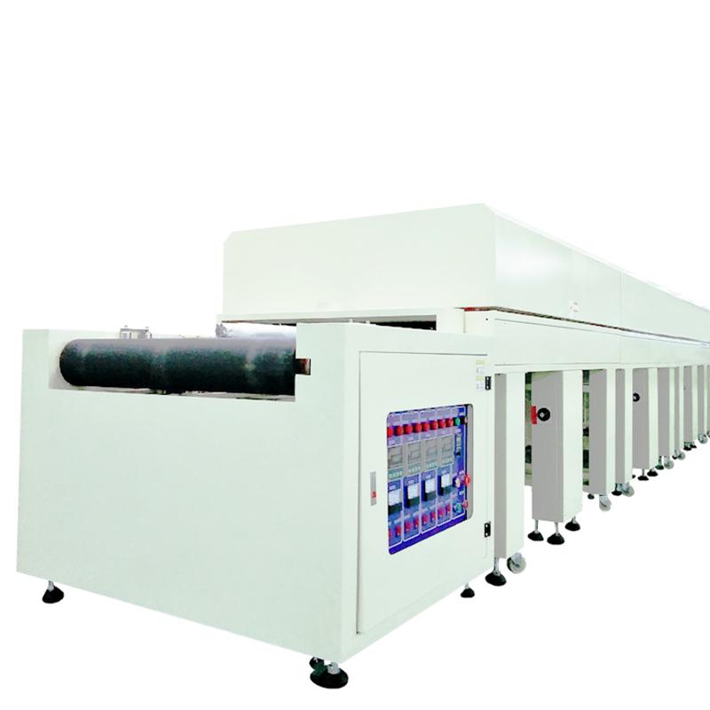 節能電熱隧道爐廠家_正凱機電_玻璃蓋板表_表面印刷烘烤_油墨