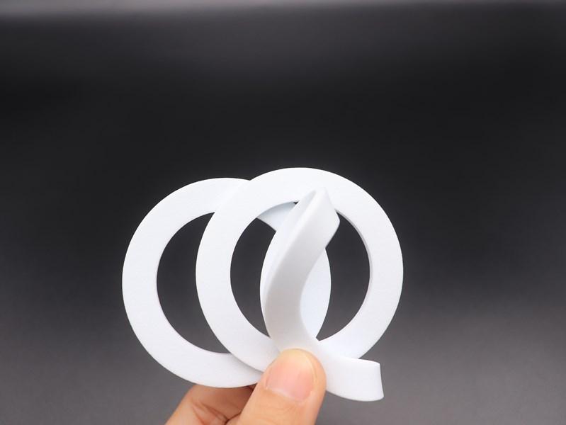 白色硅胶垫片