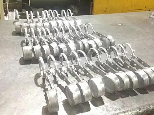 水管铝合金压铸小零件