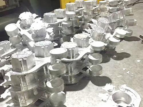 工厂铝合金产品零件
