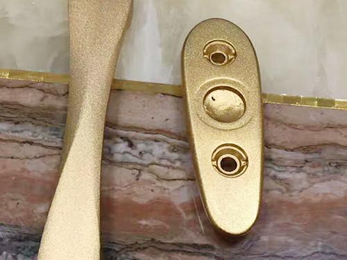 门锁扣铝合金零件
