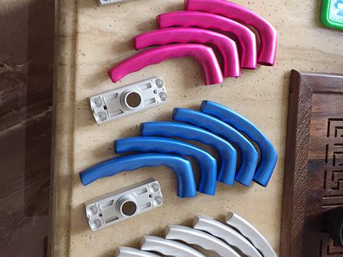 铝合金压铸门锁零件