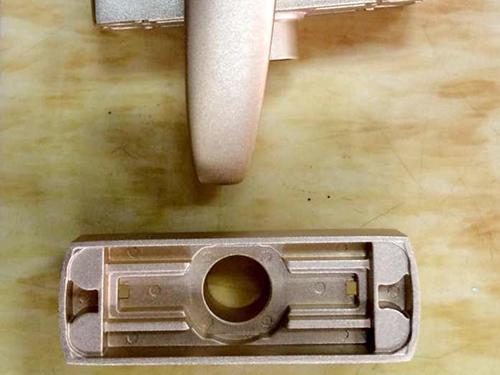 铝合金压铸门锁模具