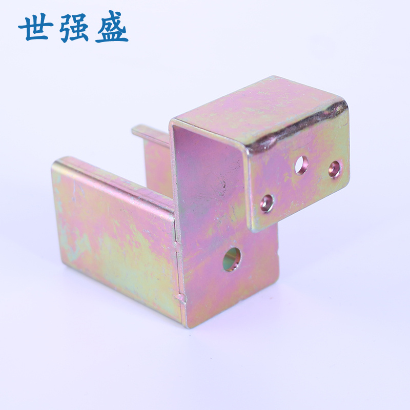 HJ-1P镀铬精益管接头生产_世强盛_米黄色_镀黑锌_设备厂