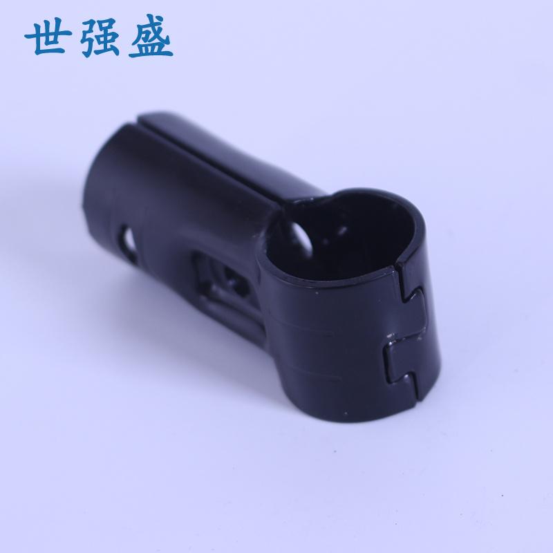 不銹鋼_二代黑色精益管接頭防靜電_世強盛