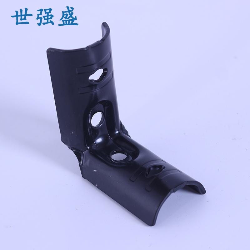 新款黑色精益管接頭貨架_世強盛_不銹鋼_線棒_28mm_設備廠