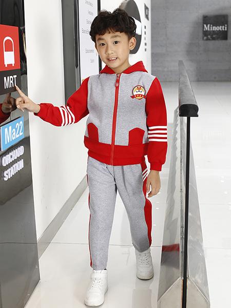 男童冬季衛衣套裝
