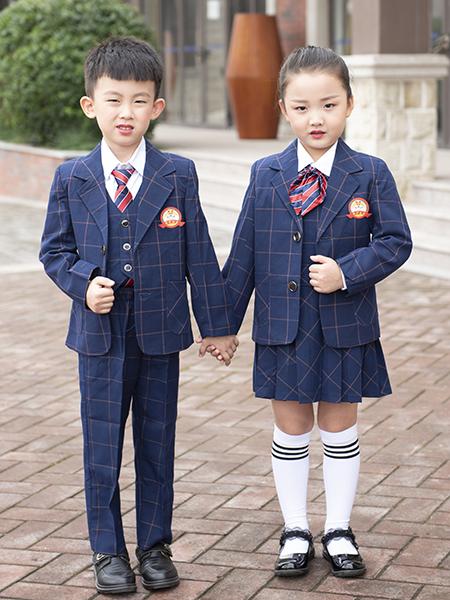 冬季新款幼兒園西服套裝