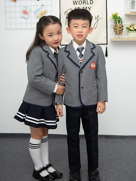 冬季新款幼兒園園服西裝