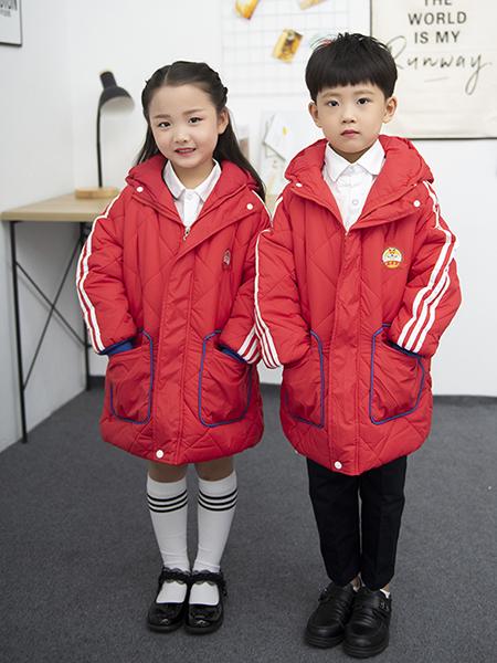 冬季新款紅色棉衣