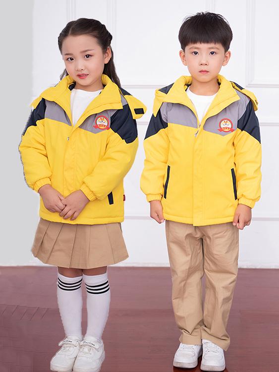 冬季棉衣幼兒園園服