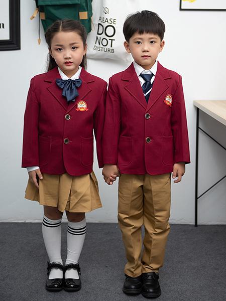 冬季新款幼兒園園服西服