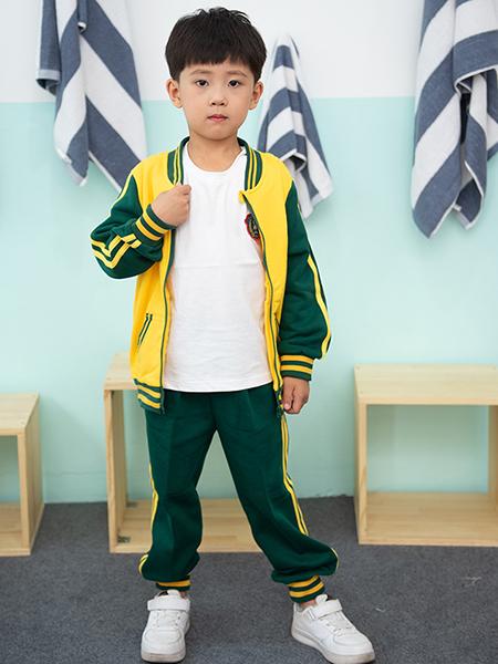 冬季新款運動裝幼兒園園服套裝