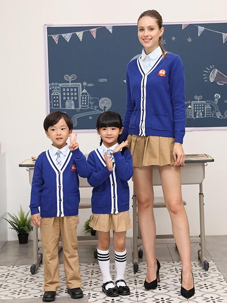 秋季幼兒園園服三件套