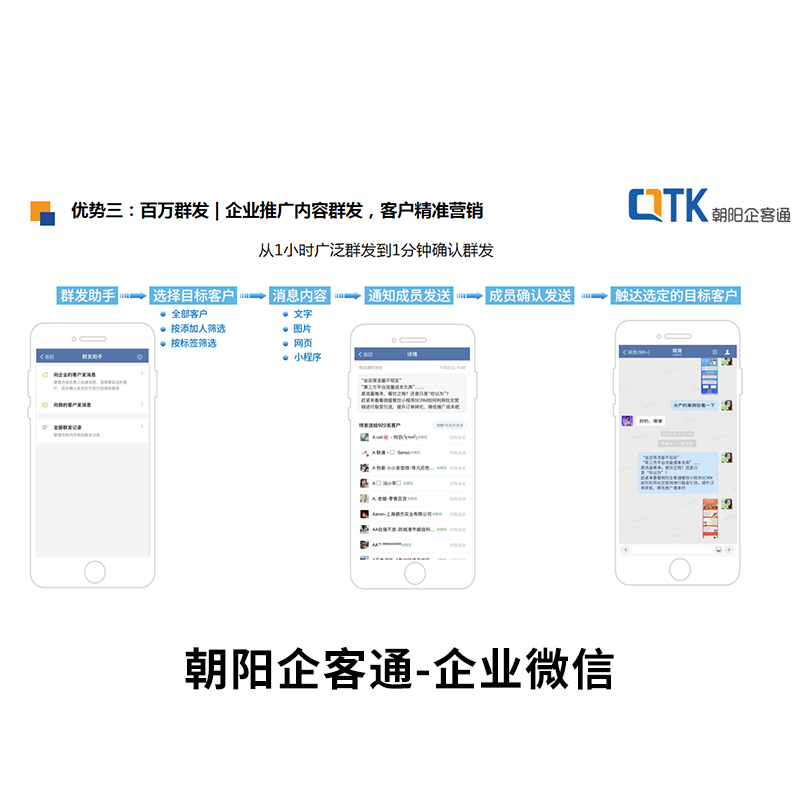 朝阳科技_餐饮_广州家用电器企业微信服务平台
